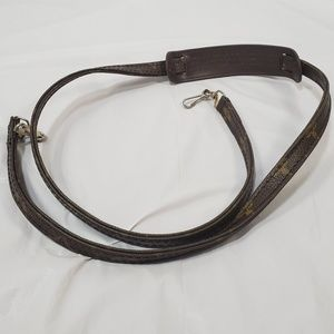 Authentic Louis Vuitton crossbody strap 46 inches